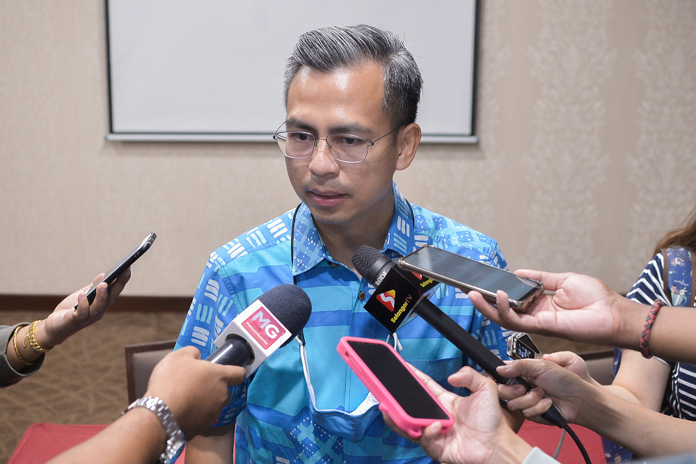 Fahmi said that a lack of trust towards the government could result in the people no longer being bothered about good governance. — Picture by Miera Zulyana