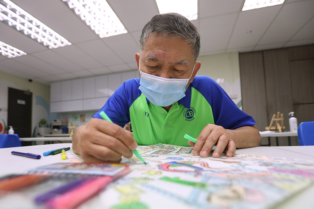 Sim Chin Chye, 63, is an active member of a senior activity centre. — TODAY pic