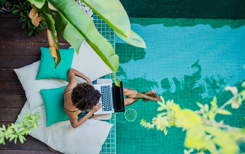Many hotel groups are gearing up for the 'bleisure' trend that mixes holidaying and business travel. — Shutterstock pic via ETX Studio