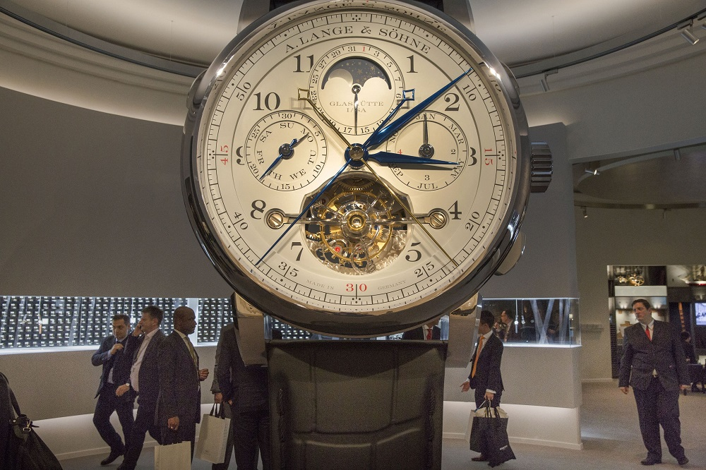 The Salon International de la Haute Horlogerie, now restyled as Watches and Wonders, opened as an online edition.The Salon International de la Haute Horlogerie, now restyled as Watches and Wonders, opened as an online edition. — AFP pic