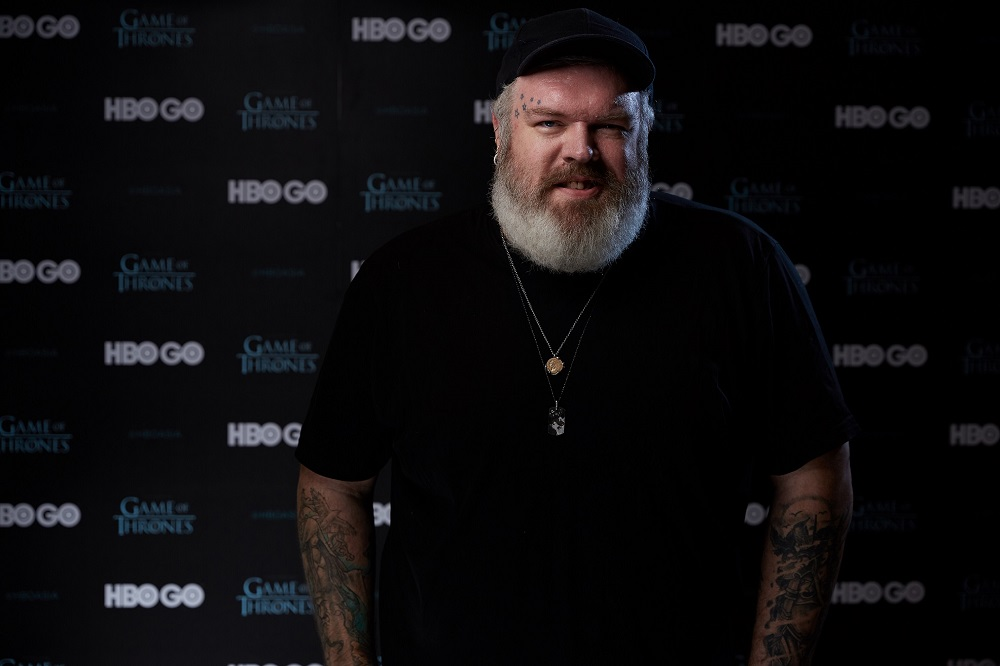 The role was Nairn's first acting job which he is forever grateful for. — Picture courtesy of HBO