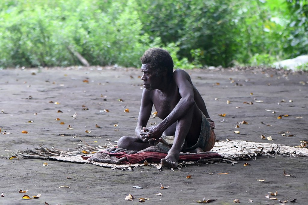 Vanuatu's population numbers only around 200,000 making it particularly vulnerable to an outbreak.— AFP pic