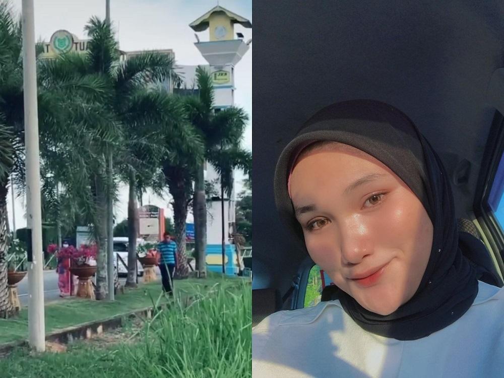Discus throw athlete Nur Nadiatul Farisya Muhammad Mahiri reunites with her parents at the Kedah-Perli state border. — Picture via Instagram/Nur Nadiatul Farisya