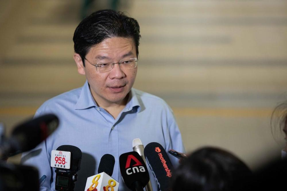 The reshuffle sees Education Minister Lawrence Wong being named the new Finance Minister. — TODAY pic