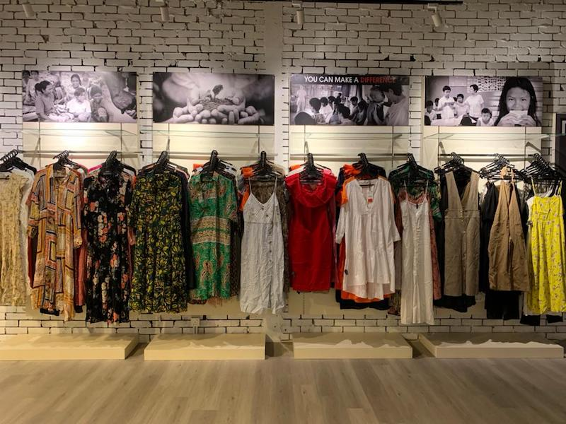 Reasonably-priced pre-loved clothes that are up for grabs. — Picture courtesy of Tina Chong