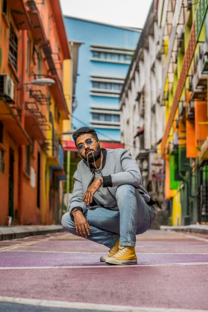 CJL or his real name Logeswara Rao has been doing covers of famous hip hop songs since he was in school before he started writing his own lyrics. — Photo courtesy of Sony Music Entertainment