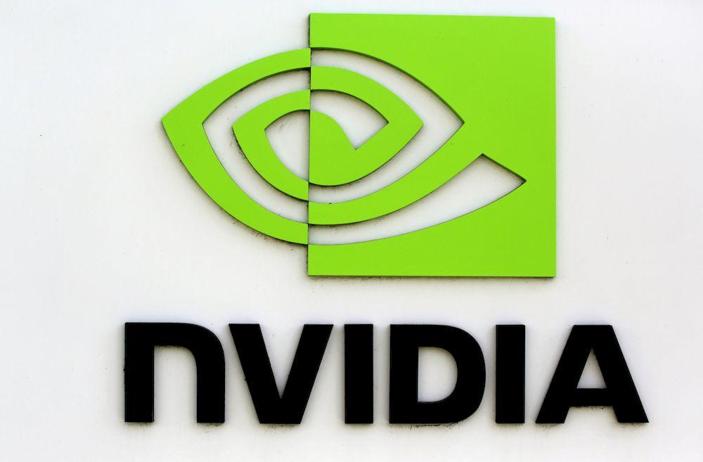 The logo of technology company Nvidia is seen at its headquarters in Santa Clara, California February 11, 2015. — Reuters pic