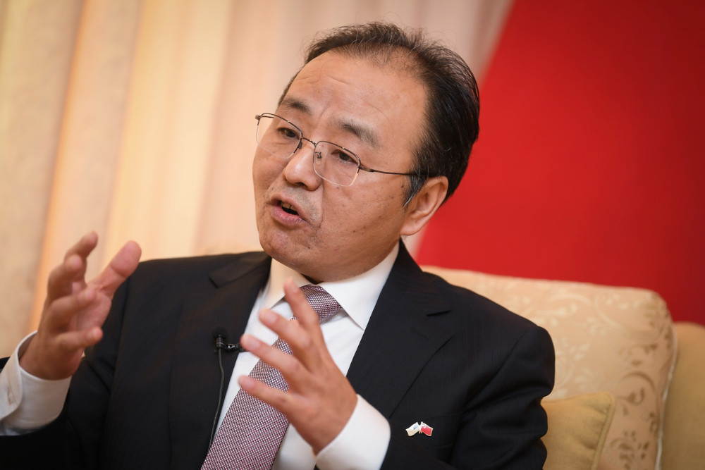 China's Ambassador to Malaysia Ouyang Yujing said Malaysia and China's ties is based on strong foundation, and the close cooperation could be seen in various fields. — Bernama pic