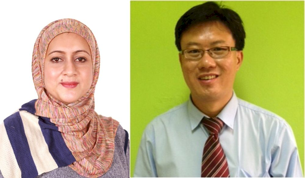 (From left) Dr Muzhirah and Dr Ngu both specialise in clinical genetics. — Pictures courtesy of Dr Muzhirah Aisha Haniffa and Dr Ngu Lock Hock