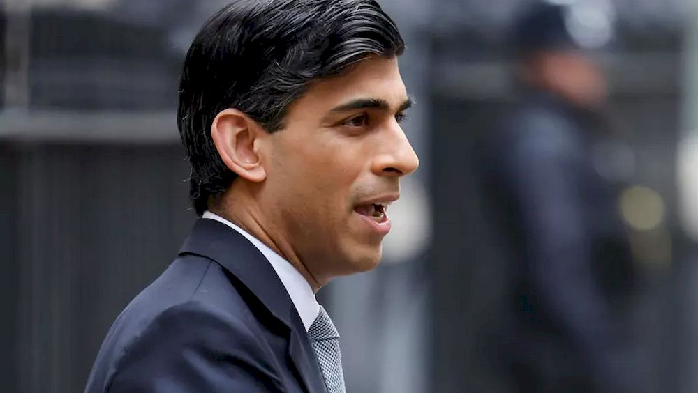 British finance minister Rishi Sunak stressed that Cameron's request was declined. — AFP file pic