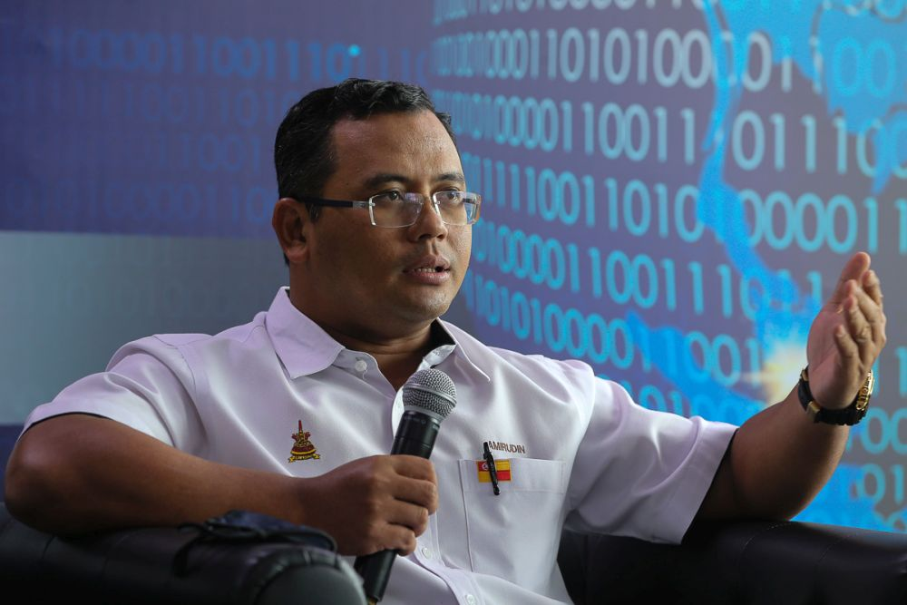 Selangor Mentri Besar Datuk Seri Amirudin Shari said that just in the last month alone, 123 cases were classified as BID, with 293 cases in total, nationwide, to date. — Picture by Yusof Mat Isa