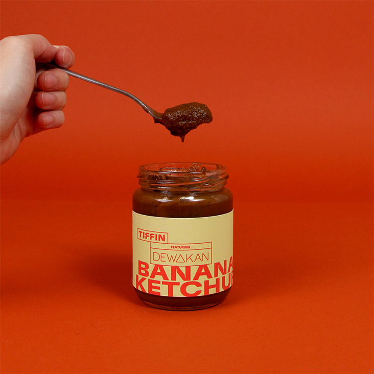 Dewakan makes the unusual banana ketchup that is perfect for eating with fried food.