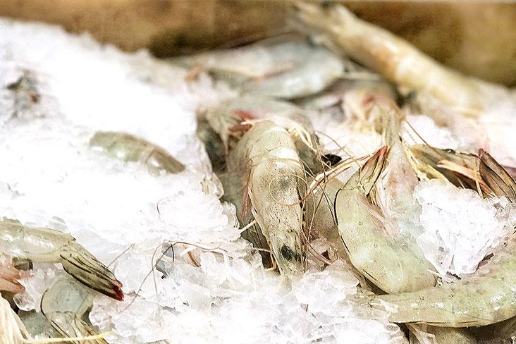 Fresh prawns are a must.