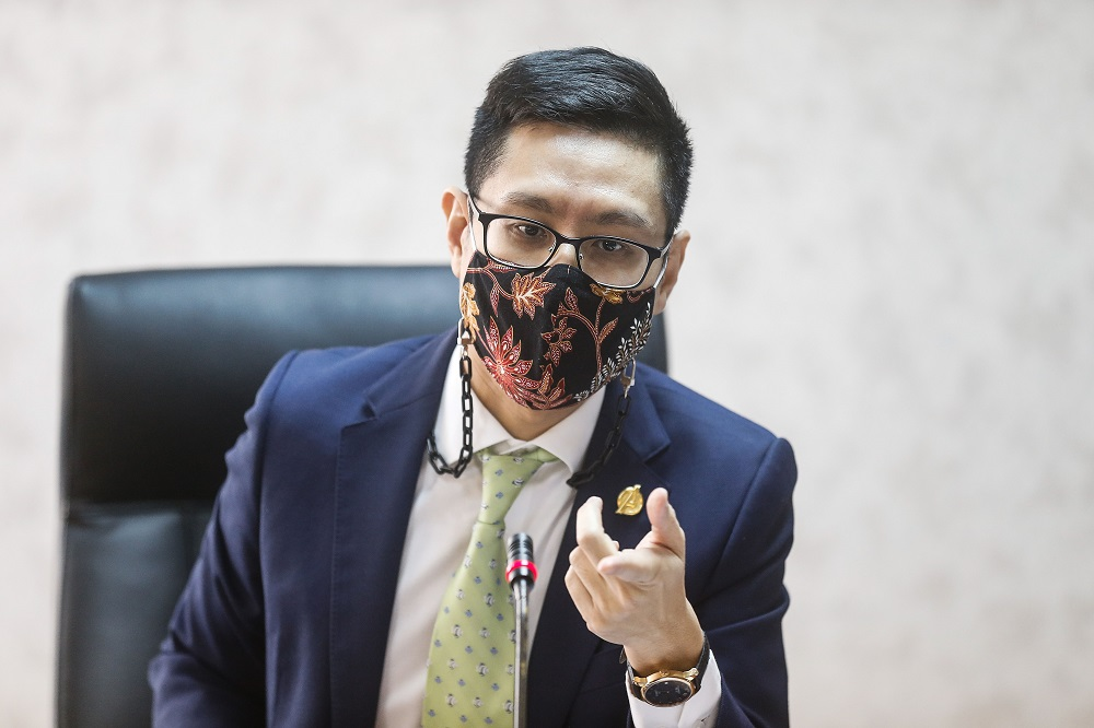 State executive councillor Zairil Khir Johari said the state will consider using this legal option pending obtaining the official written decision by the Appeal Board. ― Picture by Sayuti Zainudin