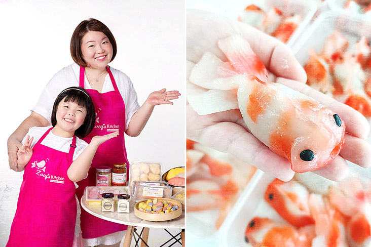 Jamie Lim started a business inspired by making natural, homemade foods for her daughter Zoey.