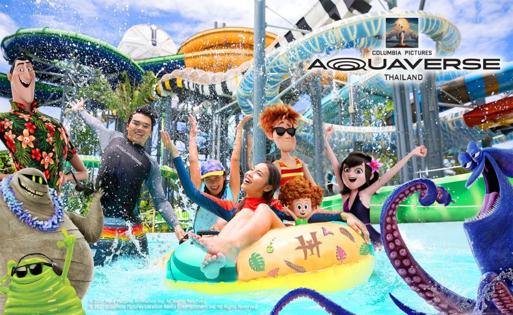 Aquaverse will feature zones and rides based on films produced by Columbia Pictures, which is owned by Sony, including Hollywood favourites 'Ghostbusters' and 'Bad Boys'. — ETX Studio pic