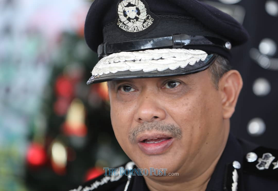 Sarawak Police Commissioner Datuk Aidi Ismail says only 10 per cent of the entire police force in the state will be allowed to go on festive break during Hari Raya Aidilfitri. ― Borneo Post pic