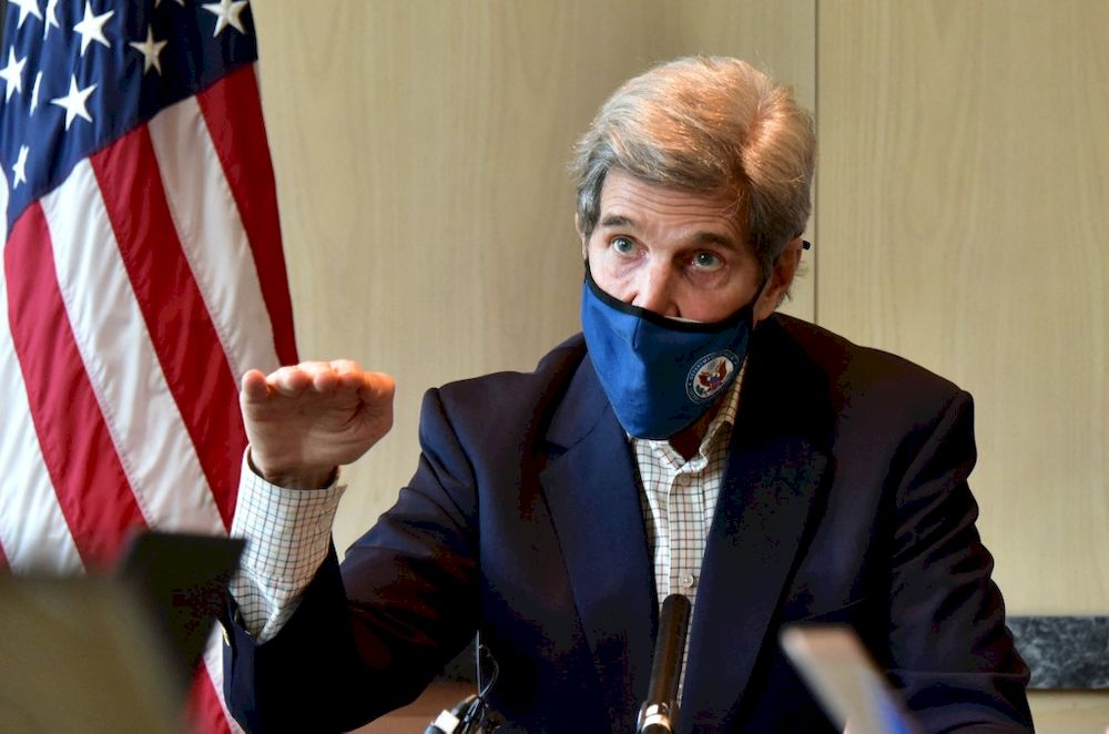 John Kerry, a former secretary of state, has become President Joe Biden's globe-trotting climate envoy. — US embassy in Seoul / AFP pic
