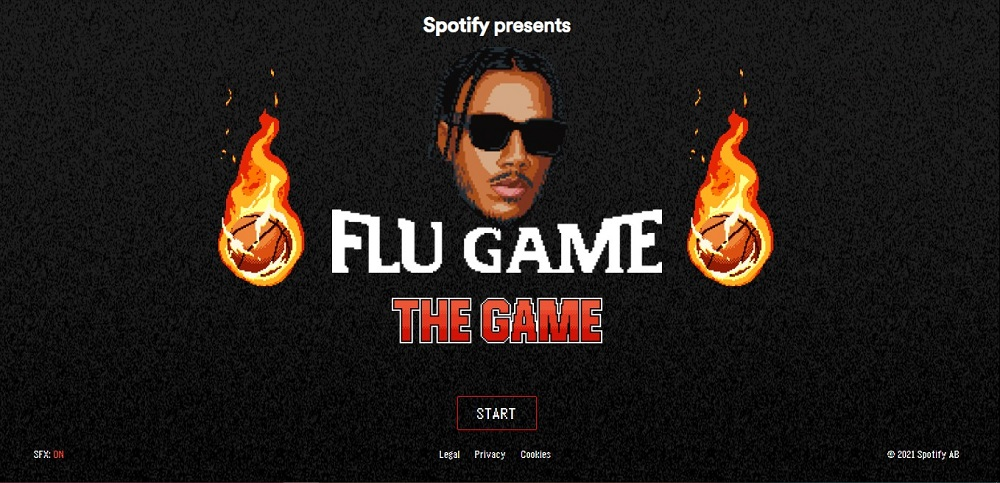To celebrate the release of AJ Tracey's second album, Spotify has launched a basketball video game. ― Picture courtesy of Spotify/ETX Studio