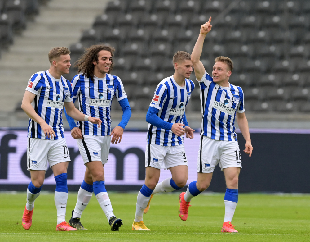 The two-week quarantine period also covers a round of midweek fixtures, meaning Hertha will have to reschedule their away Bundesliga match at Mainz on Sunday, the home game againt Freiburg next Wednesday and the visit to bottom side Schalke on April 24. — AFP pic