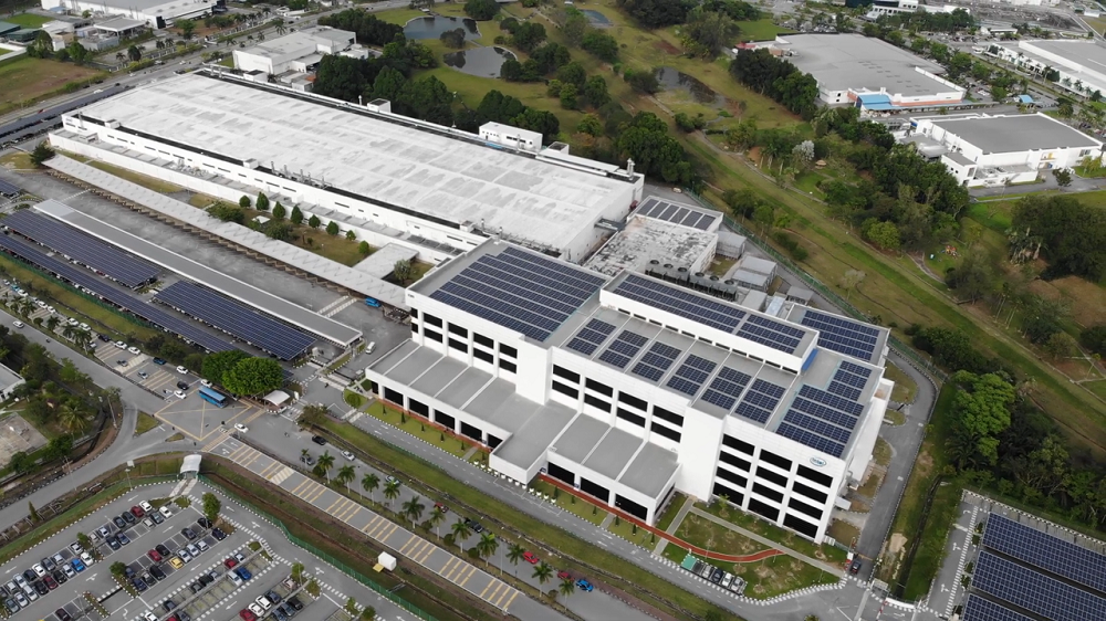 Intel unveils its largest solar farm outside the US. ― Picture courtesy of Intel Corporation
