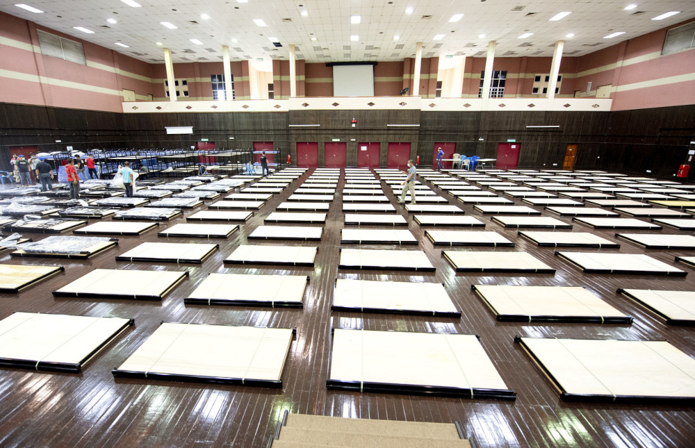 Kelantan Local Government, Housing and Health Committee chairman Dr Izani Husin said the six existing PKRCs in the state could not accommodate the rising number of Covid-19 patients. ― Bernama pic