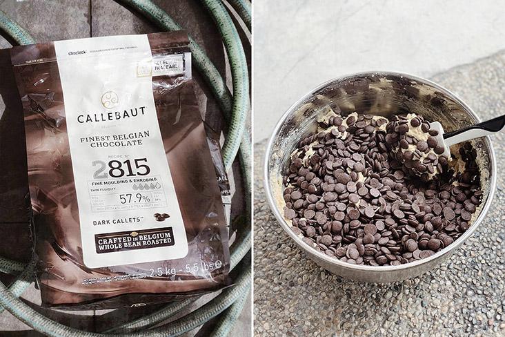 All of Yap's cookies are handmade using Belgian dark chocolate chips by Callebaut.