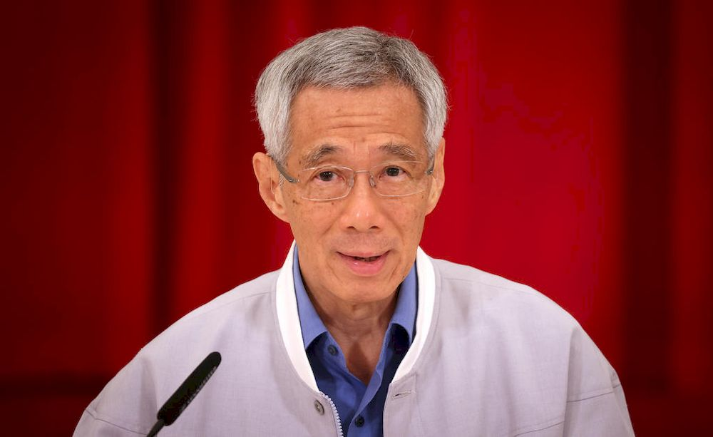 'Compared to a year ago, our outlook has brightened considerably,' Prime Minister Lee Hsien Loong said in his May Day message. — Singapore Ministry of Communications and Information pic via TODAY