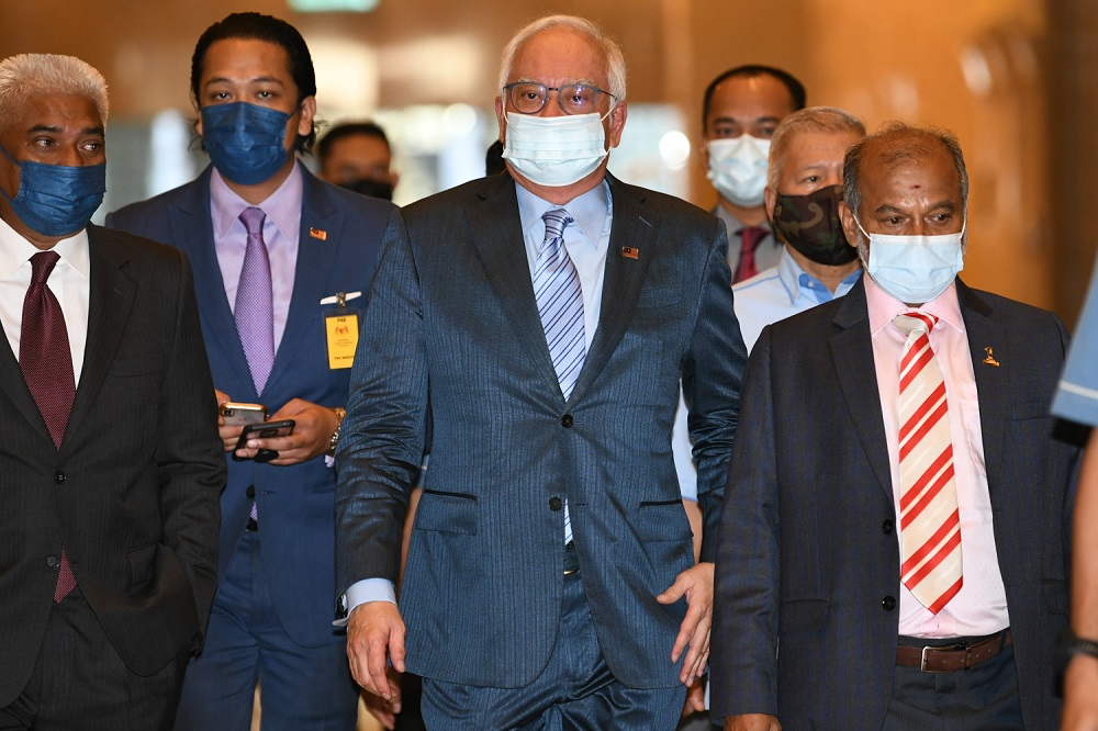 In a report by Malaysiakini, a source close to the convicted politician said the notice is over RM1.7 billion taxes that IRB is seeking from Datuk Seri Najib Razak. ― Picture by Shafwan Zaidon