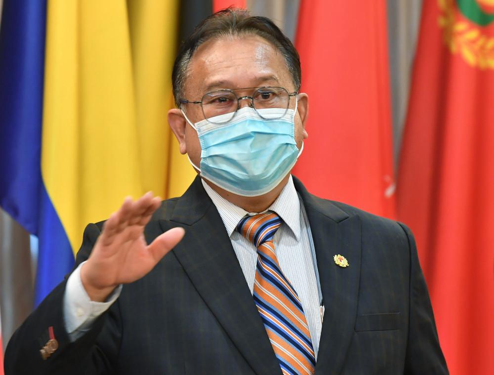 Gabungan Parti Sarawak secretary-general Datuk Sri Alexander Nanta Linggi. — Bernama pic