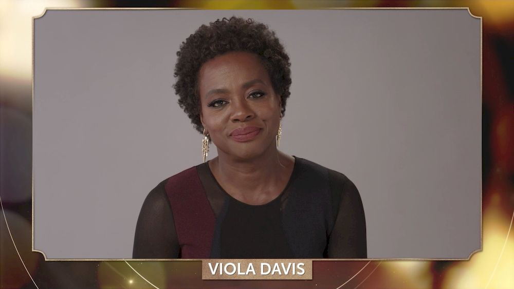File picture shows Viola Davis addressing the 32nd Annual PGA Awards presented by General Motors, March 24, 2021. — Reuters pic
