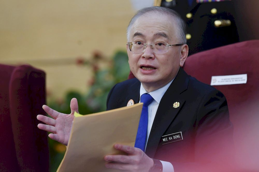 Transport Minister Datuk Seri Wee Ka Siong said he was aware of the Facebook posting and checks found that there was no such flight as alleged and MH191 was a cargo plane. — Bernama pic