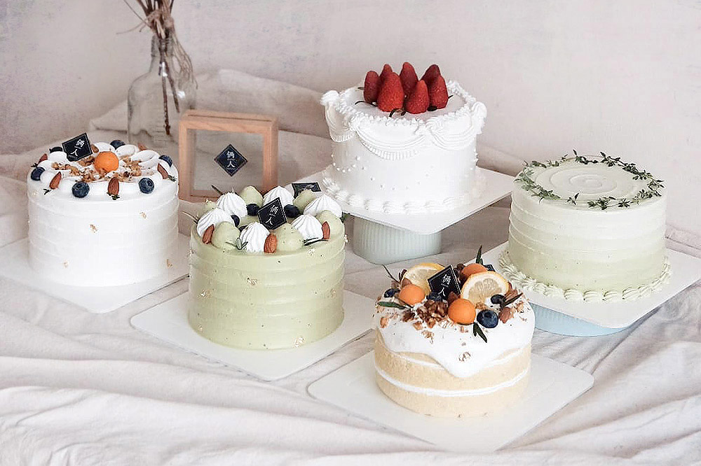 Liangren Pastry is known for their minimalist Korean-style cream cakes and more. — Pictures courtesy of Liangren Pastry