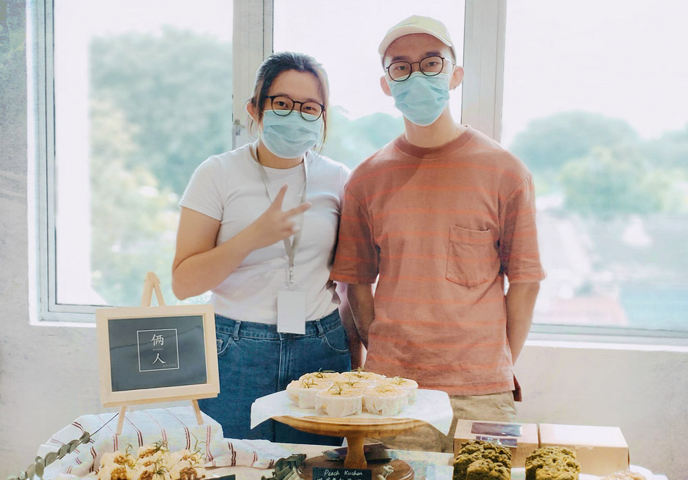 Chin Fei Yee (left) and Liew Hoe Wah (right) started Liangren Pastry during the first movement control order (MCO).