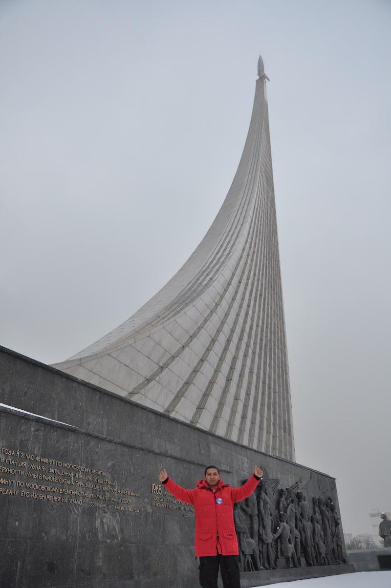 Awang at Star City, Moscow in 2011. — Picture courtesy of Awang Shahrizan Awang Abu Bakar
