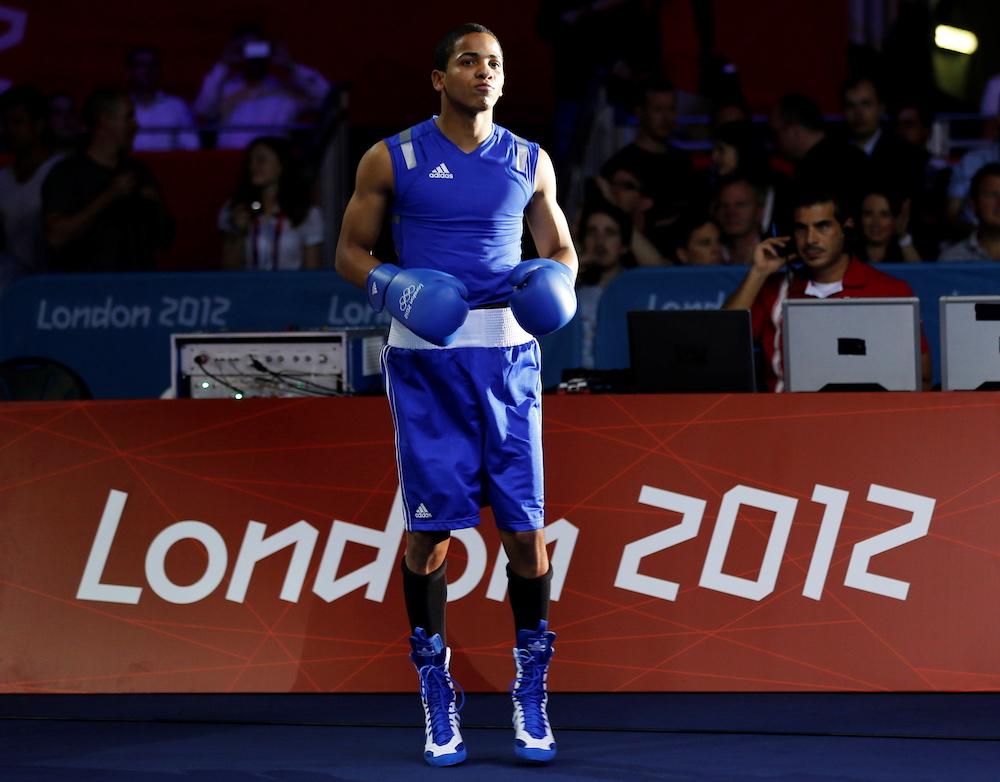 Puerto Rico's Felix Verdejo Sanchez arrives for his quarterfinal Men's Light (60kg) boxing match against Ukraine's Vasyl Lomachenko at the London Olympic Games August 6, 2012. — Reuters pic
