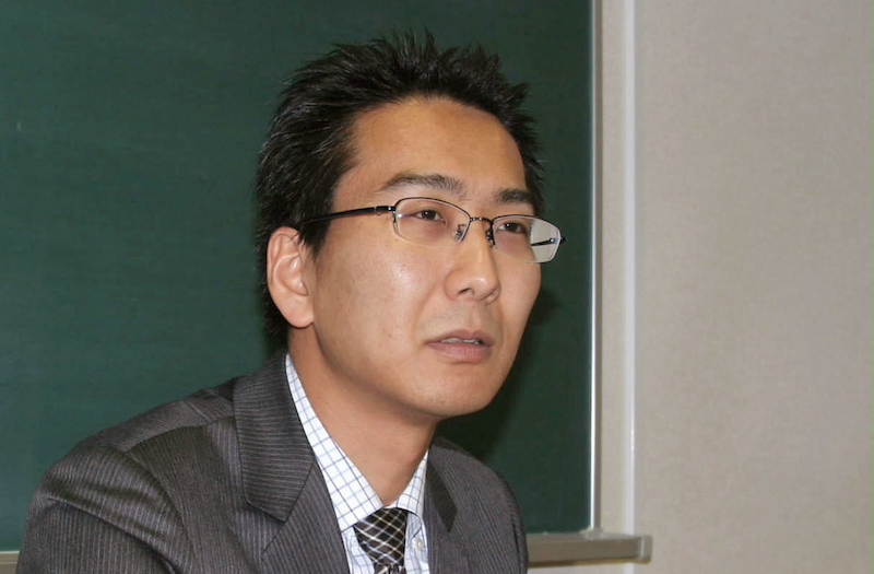 Japanese journalist Yuki Kitazumi speaks during an interview in Fukuoka, southwestern Japan, April 1, 2013, in this photo released by Kyodo. — Kyodo handout via Reuters