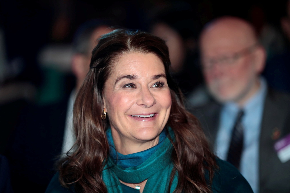 Melinda Gates said governments were waking up to arguments that the global economy needs to be vaccinated to bring the pandemic under control. — Reuters pic