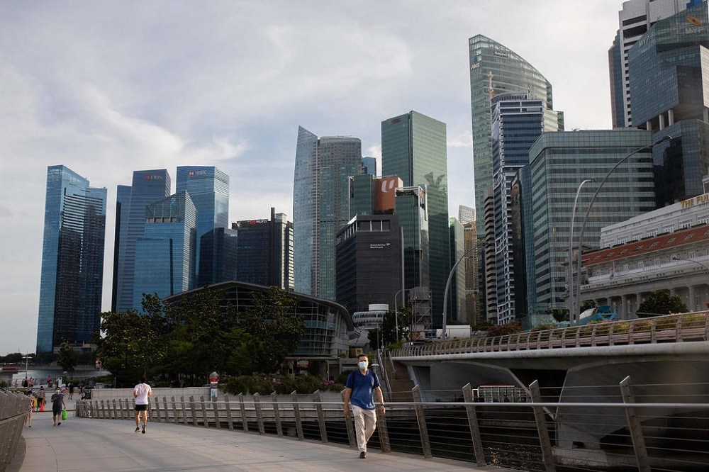 MAS said 6,500 new roles were on offer in Singapore's financial sector in 2021. — TODAY pic