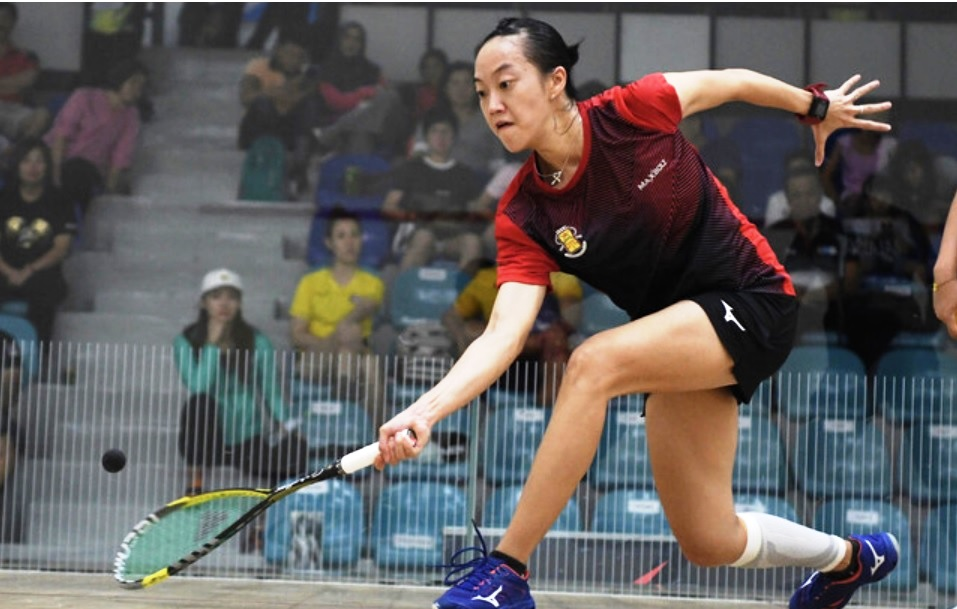 In the women's category, Low Wee Wern failed to continue her fine form as she lost to home player Olivia Clyne 9-11, 11-4, 9-11, 8-11. ― Bernama pic