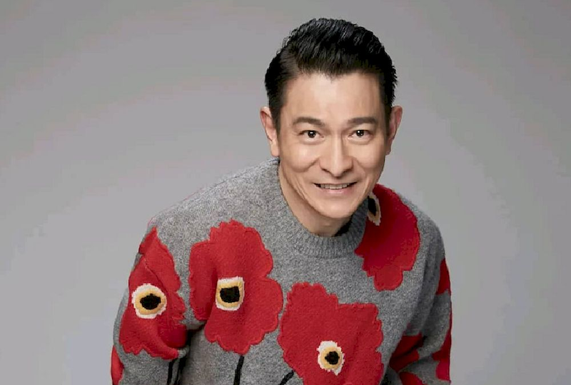 Hong Kong superstar Andy Lau, who is married to a Malaysian, sends a positive note to cheer his fans up. — Photo via Douyin