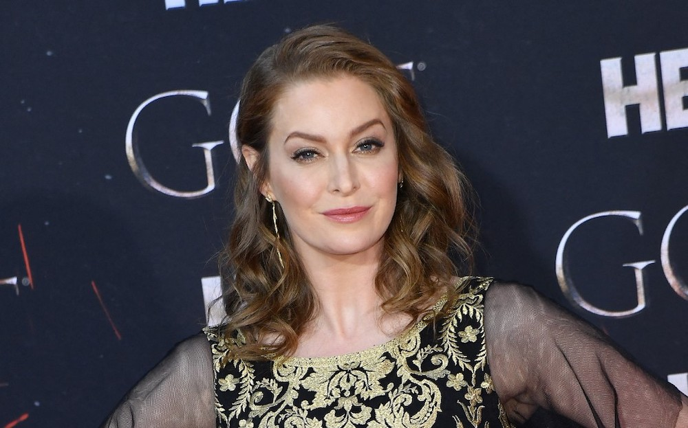 In this file photo taken on April 3, 2019 British actress Esme Bianco arrives for the 'Game of Thrones' eighth and final season premiere at Radio City Music Hall in New York city. 'Game of Thrones' actor Esme Bianco filed a lawsuit against US goth