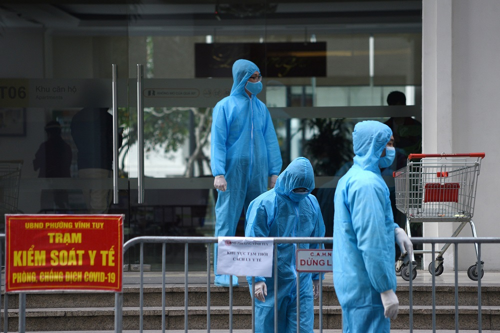 After successfully containing the disease for much of the pandemic, Vietnam has faced a more stubborn outbreak since late April. ― Reuters file pic