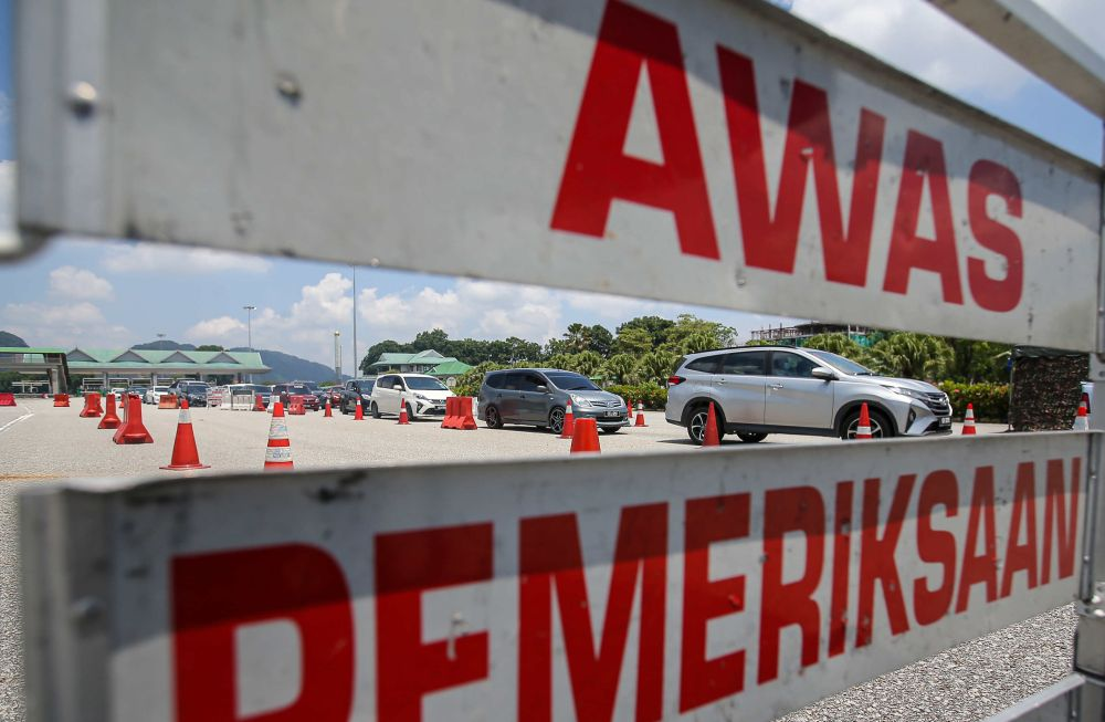 The State Disaster Management Committee (SDMC) today has decided to extend the conditional movement control order for Sarawak to June 7 . — Picture by Farhan Najib