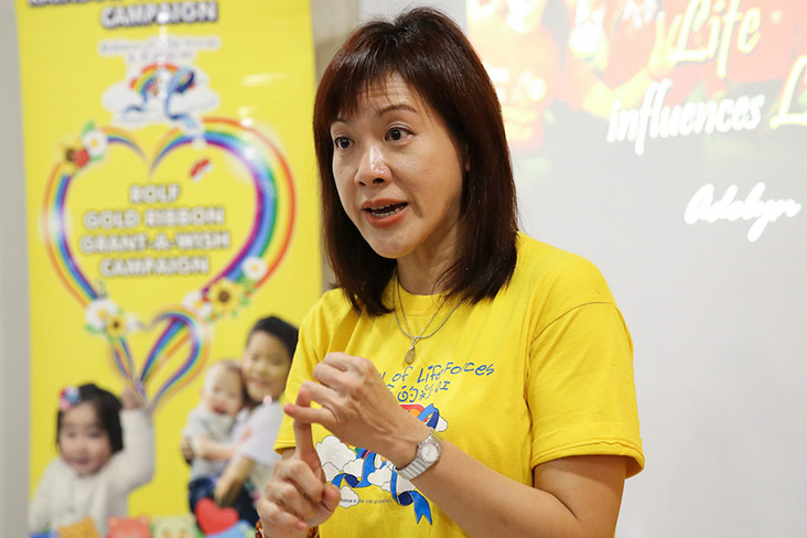 Rainbow of Life Forces founder Adelyn Lim believes in doing small things that inspire like this competition to raise awareness on food waste — Malay Mail file pic