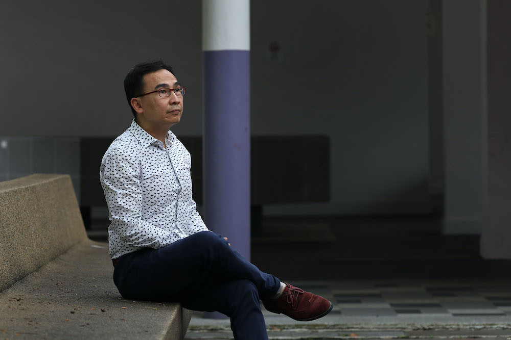 Dr Wong Choo Wai was overworked and burnt out when he ran his clinic and volunteered 12-hour shifts at the community care facility last year. Now he is preparing to possibly volunteer at the emergency department at NCID. ― Photo by Raj Nadarajan for TOD