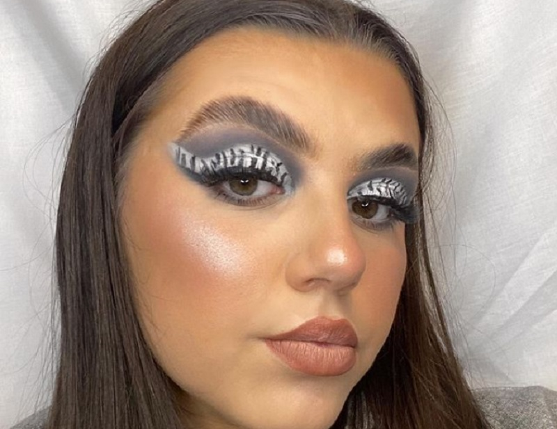 Make way for boldness and creativity: animal prints, a classic for clothing, are now making their mark on our eyelids. — Picture via Instagram/makeup.byelliemay