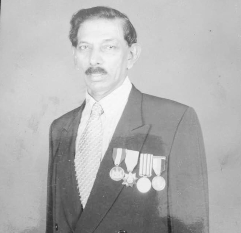 Datuk Asirvatham Victor, who took up athletics after chasing a school runner who took his pencil box in 1948, ran the 400 metres in three Olympics namely, Tokyo (1964) and Mexico (1968). — Picture from Twitter/BernamaTV