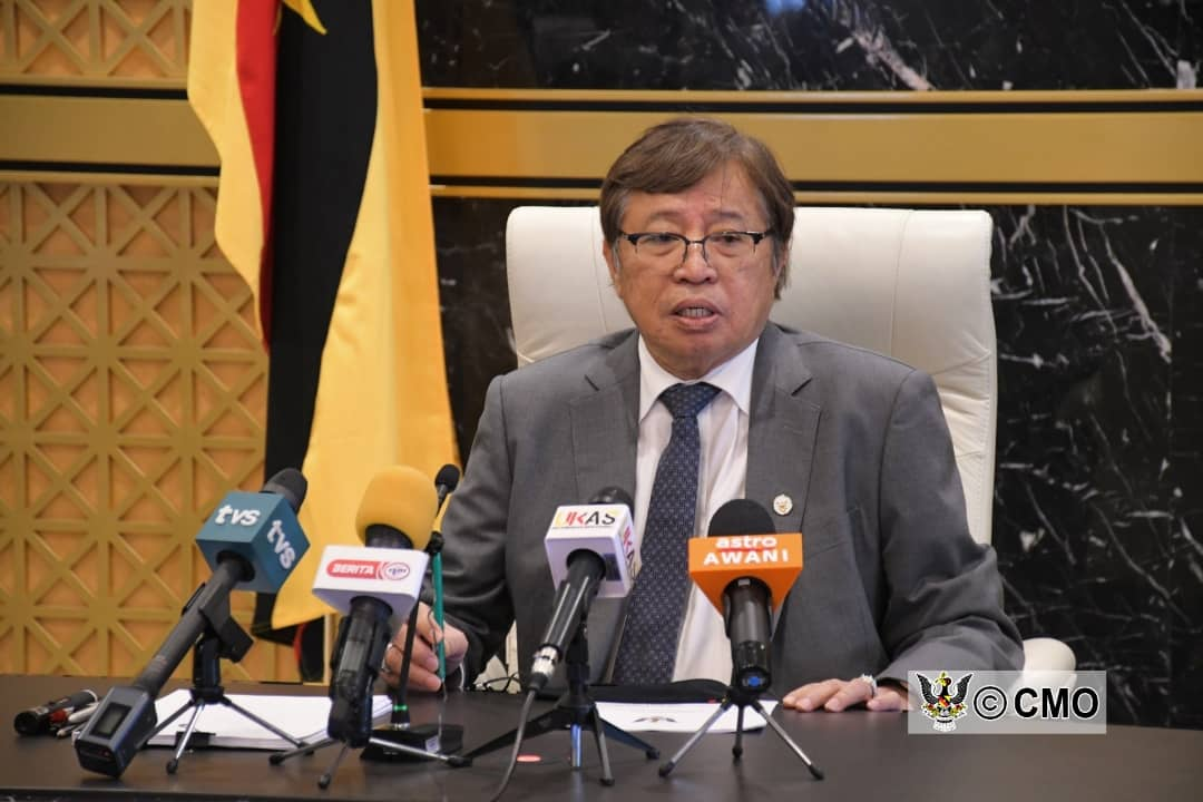 Sarawak Chief Minister Datuk Patinggi Abang Johari Tun Openg says the coming state election can wait until the Covid-19 situation is put under control.