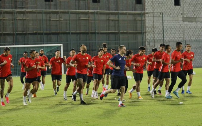 The national team, under coach Tan Cheng Hoe, had earlier made plans for two friendlies, including against Palestine, during the August 30 to September 7 Fifa window for international matches. ― Picture via Twitter/bernamadotcom